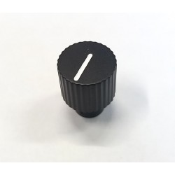 Black potentiometer knob...