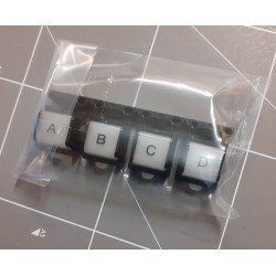 ABCD button for Genos keyboard